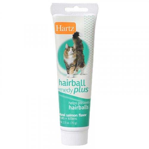 Hartz hairball remedy plus - паста Хартц для выведения шерсти из желудка кошек и котят