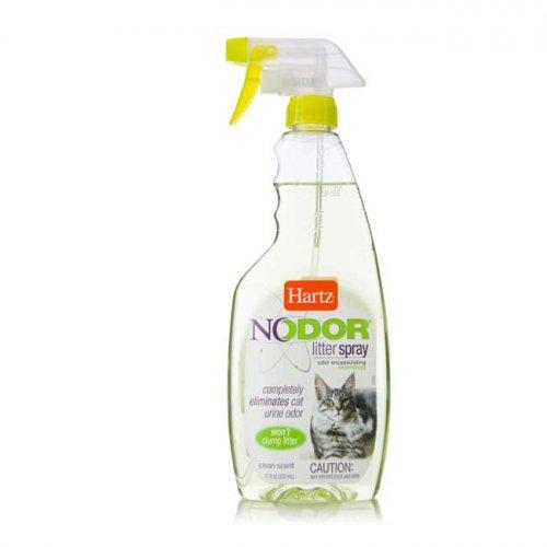 Hartz Nodor Litter Spray Scented - средство Хартц для уничтожения запахов в кошачьих туалетах