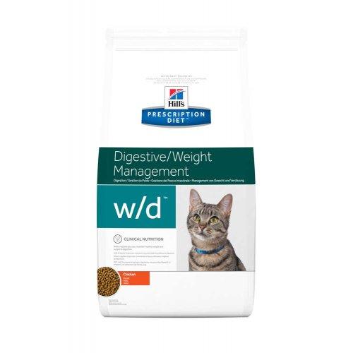 Hills PD w/d Digestive Weight Management - диетический корм Хиллс для кошек