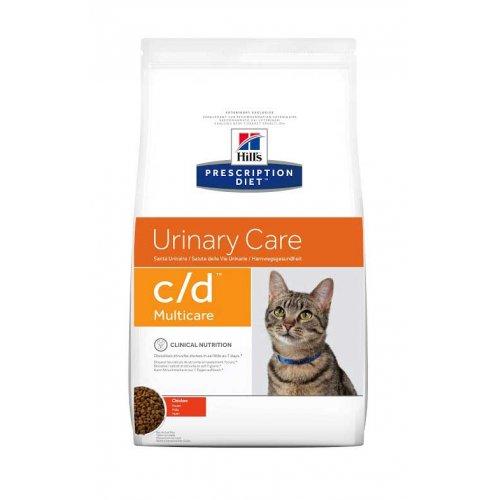 Hills PD c/d - корм Хилс с курицей для кошек при заболеваниях мочевыводящих путей