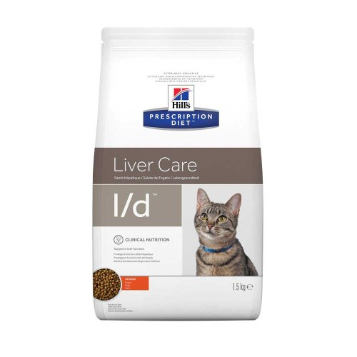 Hills PD l/d Liver Care- корм Хилс при заболеваниях печени