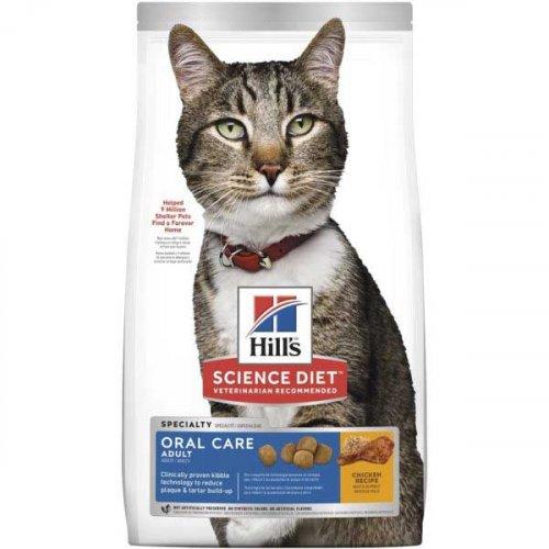Hills SP Adult Oral Care - корм Хиллс для взрослых кошек со стоматологическими проблемами