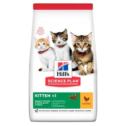 Hills SP Kitten - корм Хиллс для котят, беременных и кормящих кошек, с курицей