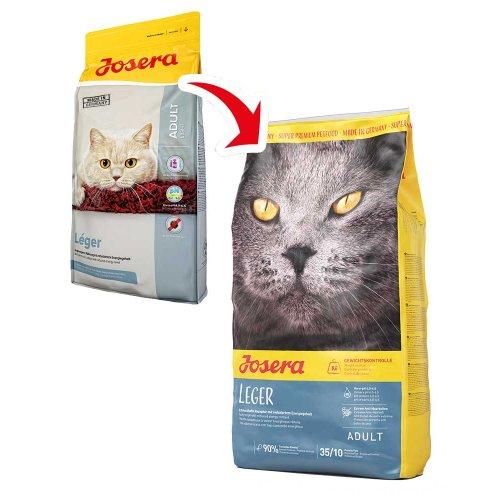 Josera Leger - сухой корм Йозера Лигер для малоподвижных кошек