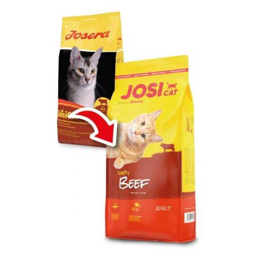 Josera Josicat Beef- корм Йозера для взрослых домашних кошек со средним уровнем активности