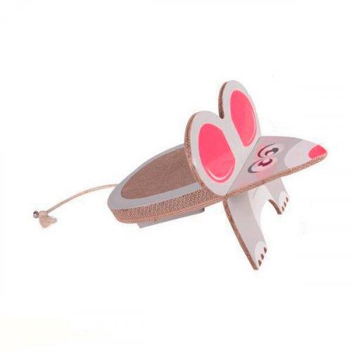 Karlie-Flamingo Mouse - напольная когтеточка Карли-Фламинго Мышь