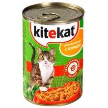 Kitekat - консервы Китекет с курицей для кошек
