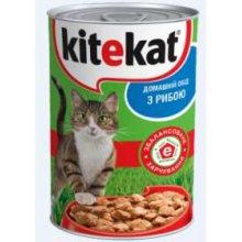 Kitekat - консервы Китекет с рыбой для кошек