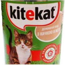 Kitekat - консервы Китекет с уткой для кошек