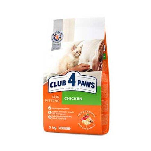 C4P Premium Kitten - корм Клуб 4 Лапы для котят