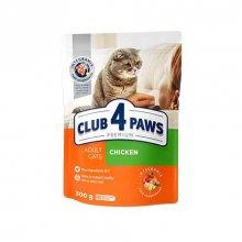 C4P Premium with Chicken - корм Клуб 4 Лапы с курицей для кошек