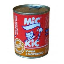 МИС КИС консервы с курицей и морковью для кошек