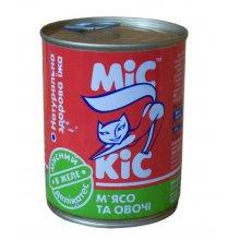 МИС КИС консервы с мясом и овощами для кошек