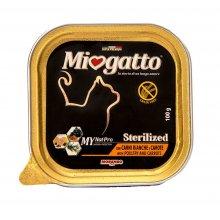 Morando Miogatto Sterilized - консервы Морандо с птицей и морковью для стерилизованных кошек