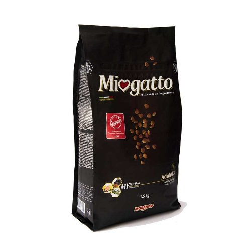 Morando Miogatto Veal & Barley - корм Морандо с телятиной и ячменем для кошек