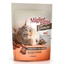 Morando Migliorgatto - корм Морандо крокеты с лососем для стерилизованных кошек