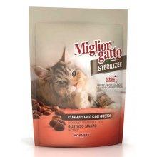 Morando Migliorgatto - корм Морандо крокеты с телятиной для стерилизованных кошек