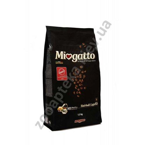Morando Miogatto Hairboll Light - корм Морандо для выведения шерсти у кошек