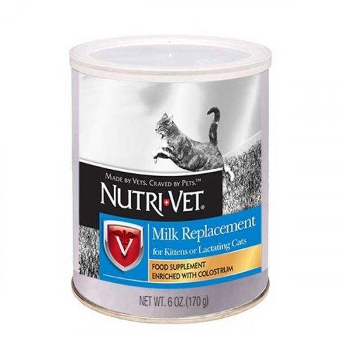 Nutri-Vet Milk Replacement - замінник котячого молока для кошенят Нутрі-Вет