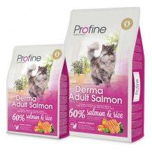 Profine Derma - корм для кошек Профайн, с лососем и рисом