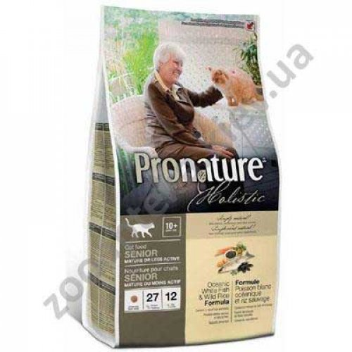Pronature Holistic - корм Пронатюр холистик для малоактивных кошек
