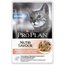 Purina Pro Plan Hausecat - консервы Пурина Про План с лососем для кошек