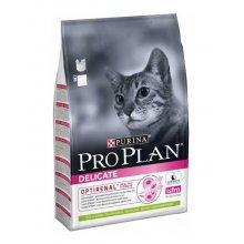 Purina Pro Plan Delicate Lamb - корм Пурина Про План с ягненком и рисом для кошек