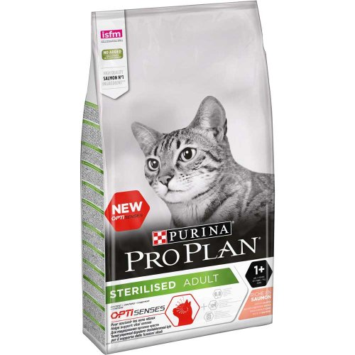 Purina Pro Plan Sterilised Salmon - корм Пурина Про План с лососем для стерилизованных кошек