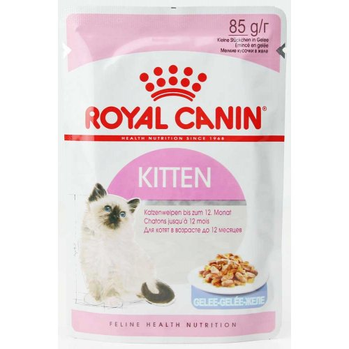 Royal Canin Kitten Instinctive in Jelly - корм Роял Канин кусочки в желе для котят