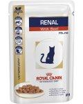 Royal Canin Renal Beef - корм Роял Канин для кошек с почечной недостаточностью