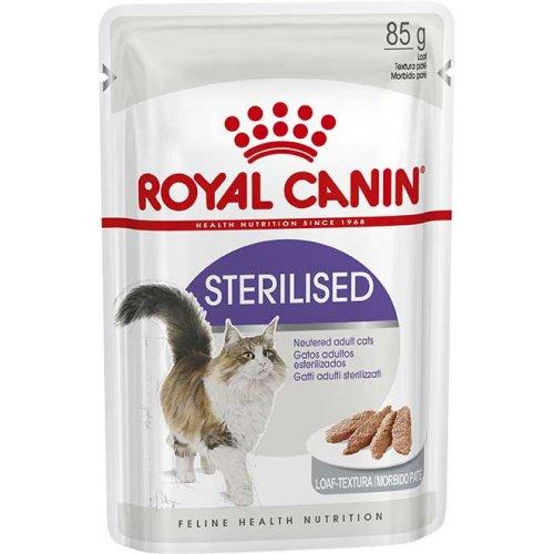 Royal Canin Sterilised Loaf - корм Роял Канин паштет для стерилизованных кошек