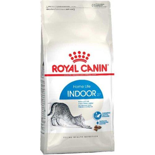 Royal Canin Indoor 27 - корм Роял Канин для домашних кошек в возрасте от 1 года до 7 лет