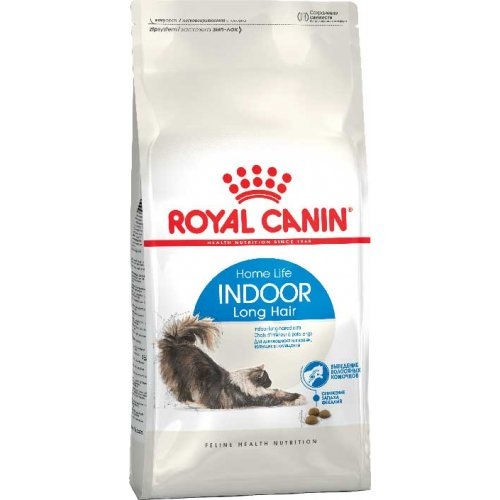 Royal Canin Indoor Long Hair 35 - корм Роял Канин для длинношерстных домашних кошек
