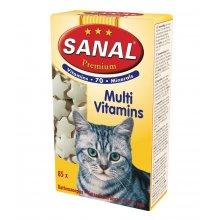 Sanal Cat Premium Multivitamins - мультивитаминное лакомство Санал Премиум