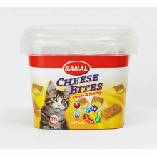 Sanal Cheese Bits - хрустящие подушечки Санал с сыром и паштетом