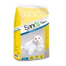 Sanicat Classic Professional - впитывающий наполнитель Саникет для туалета на основе сепиолита