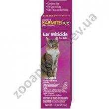 Sentry - капли с алоэ против ушного клеща Сентри для кошек