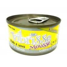 Vibrisse Kittens - консервы Вибриссе курица и яичный паштет для котят