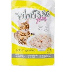Vibrisse Jelly - консервы Вибриссе курица в желе для кошек