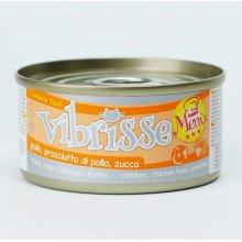 Vibrisse Menu - консервы Вибриссе курица с ветчиной в тыквенном соусе