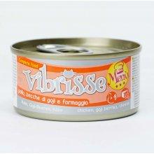 Vibrisse Menu - консервы Вибриссе курица с ягодами годже в сырном соусе
