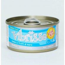 Vibrisse Menu - консервы Вибриссе тунец с морепродуктами