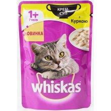Whiskas - корм Вискас Крем-суп с курицей