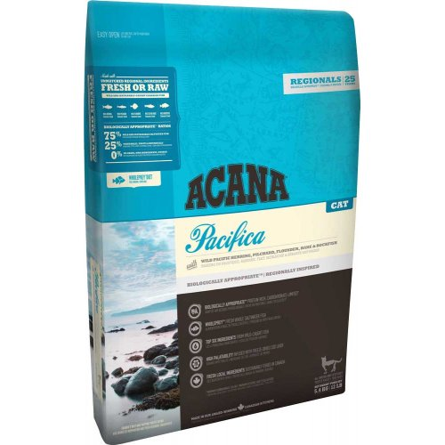 Acana Pacifica Cat - корм Акана Пацифика Кет для кошек