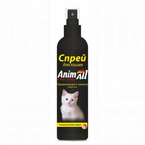 AnimAll - спрей ЭнимАл для приучения котенка к туалету