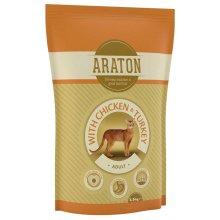 Araton Adult Chicken and Turkey - корм Аратон с курицей и индейкой для кошек