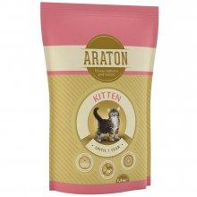 Araton Kitten - корм Аратон с курицей для котят
