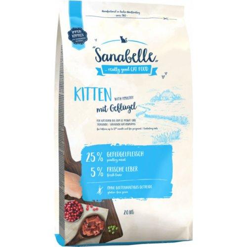 Bosch Sanabelle Kitten - корм Бош Санабель для кошенят, вагітних або годуючих кішок