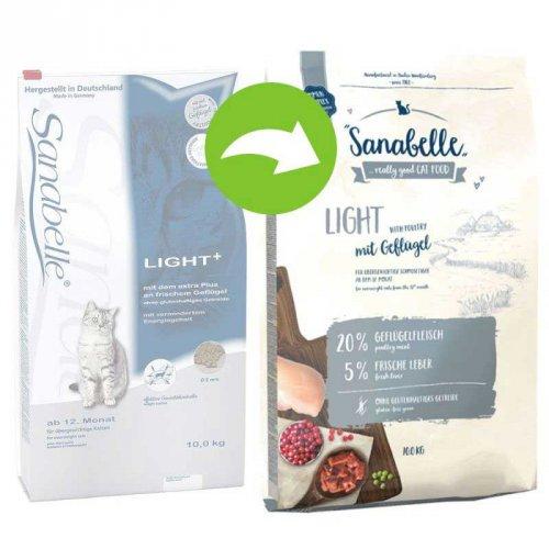 Bosch Sanabelle Light - корм Бош для кошек, склонных к избыточному весу