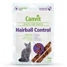 Canvit Hairball Control - лакомство для выведения шерсти Канвит для кошек